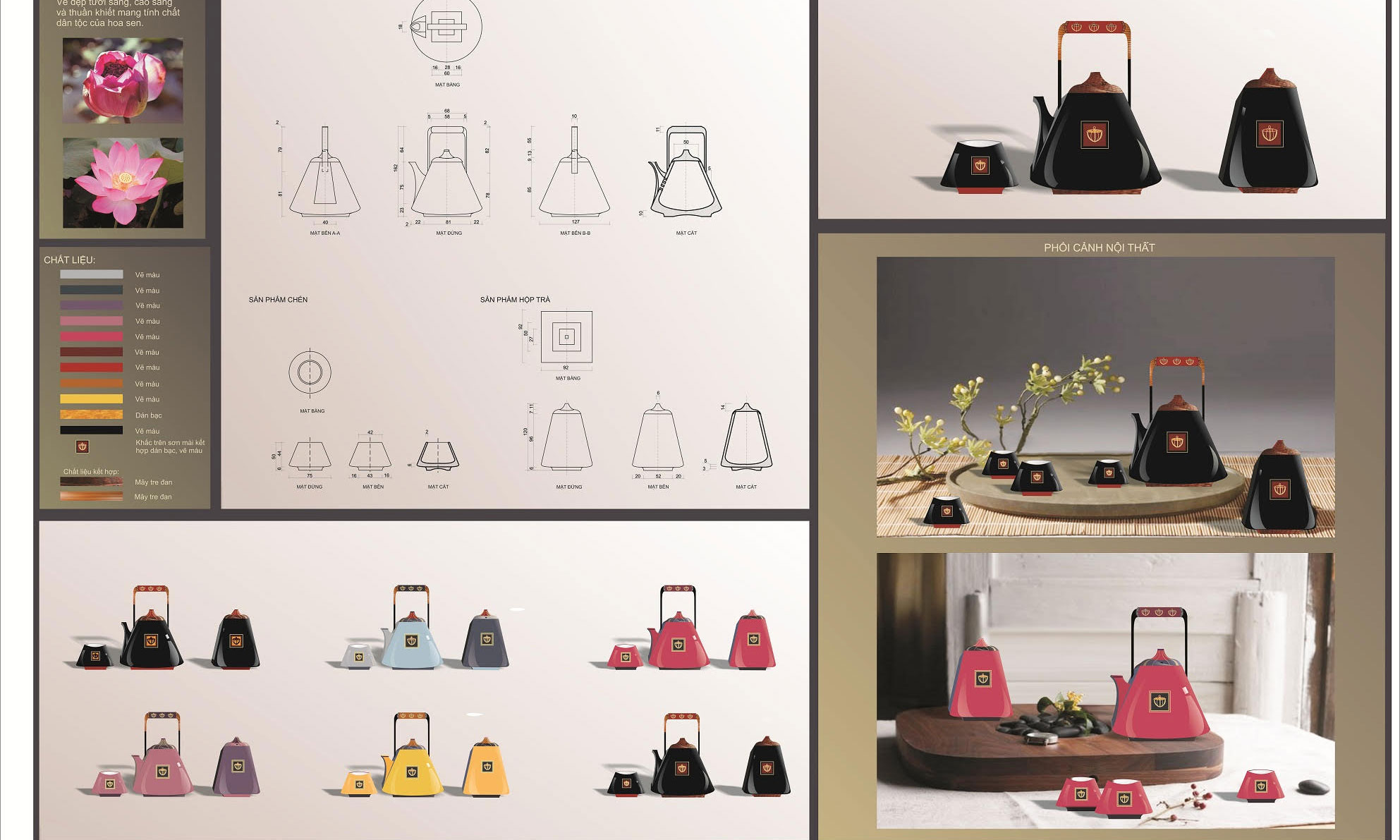 Thiết kế từ cảm hứng hoa sen giành giải cao nhất của Hanoia