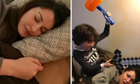 9 bức ảnh hài hước về sự khác biệt giữa trước và sau khi làm mẹ