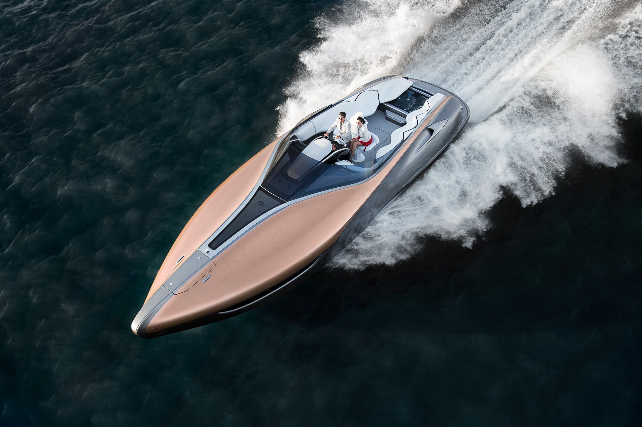 Sport Yacht Concept - Through The Lens Event - Miami Florida 56