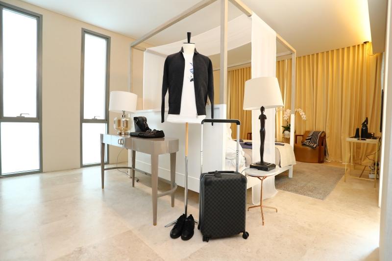 Không gian dành cho quý ông của Louis Vuitton tại Louis Vuitton Saigon House
