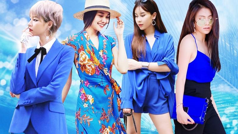 """Mỹ nhân Việt """"ướp lạnh"""" mùa hè với sắc xanh tươi mát"""