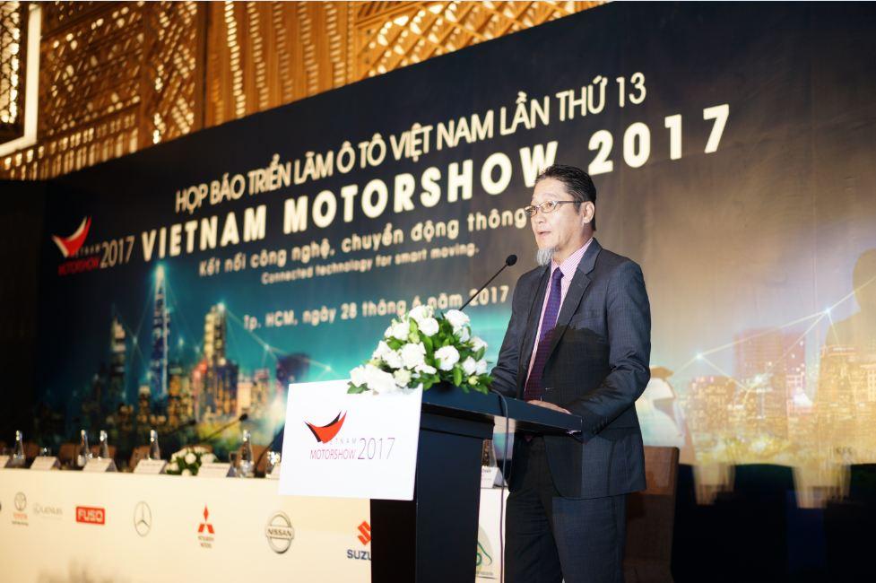 Vietnam Motor Show 2017 lần thứ 13 trở lại vào tháng 8/2017 tại Tp.HCM