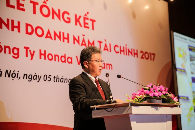 Honda Việt Nam công bố kết quả kinh doanh năm 2017