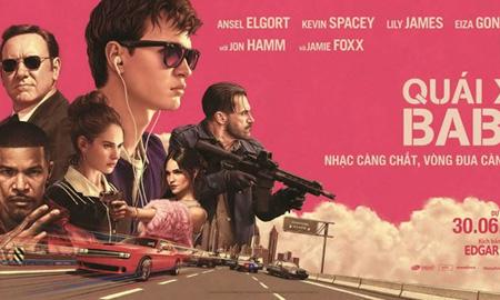"""""""Baby Driver"""" – phim """"đua xe-nhạc kịch"""" khiến khán giả thót tim"""