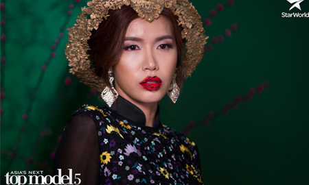 Minh Tú trở thành Á quân Asia's Next Top Model mùa 5