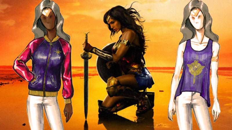 """Wonder Woman bắt đầu """"xâm lấn"""" thời trang"""