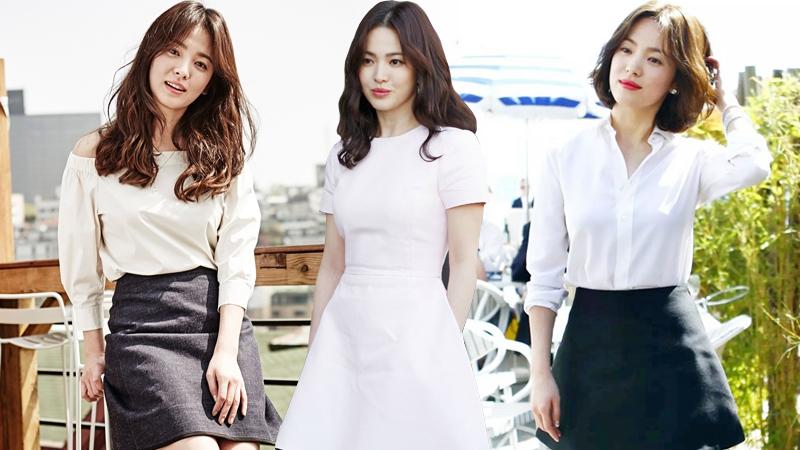 Phong cách thời trang vạn người mê của Song Hye Kyo