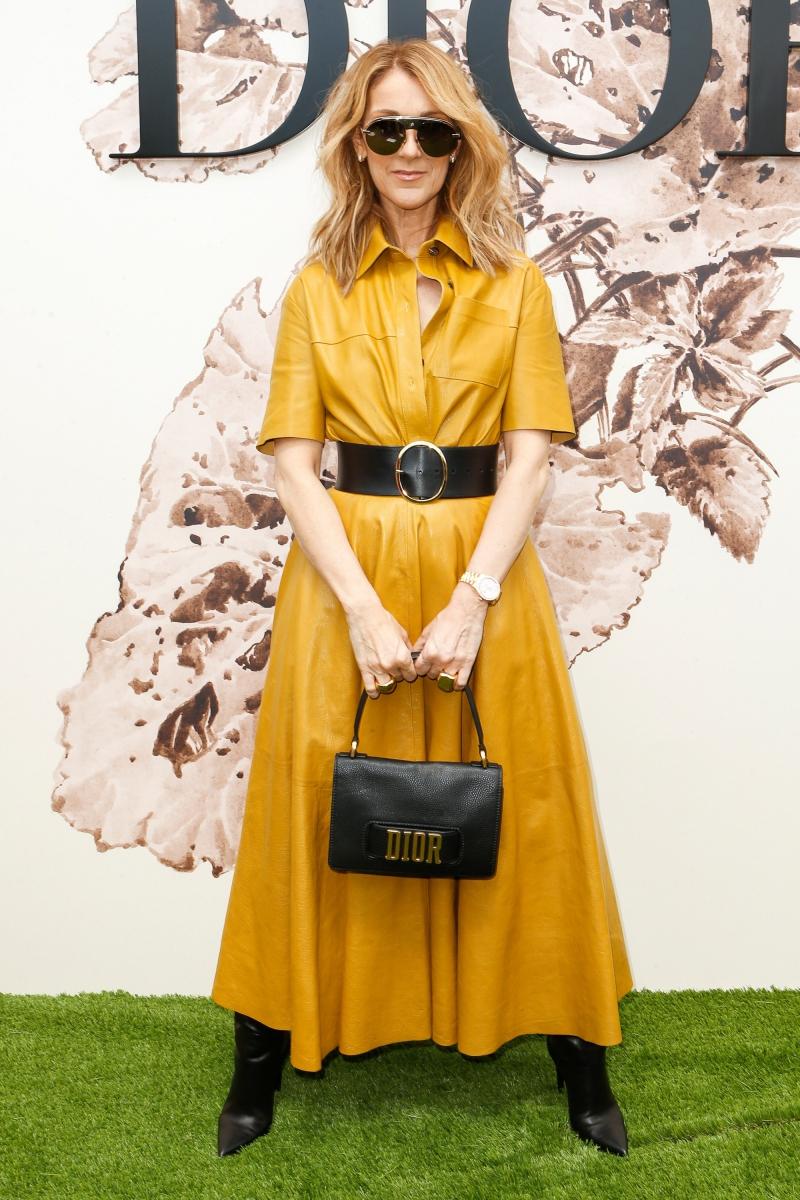 Nữ ca sĩ Canada Celine Dion trở lại với Tuần lễ Thời trang Haute Couture tại Paris
