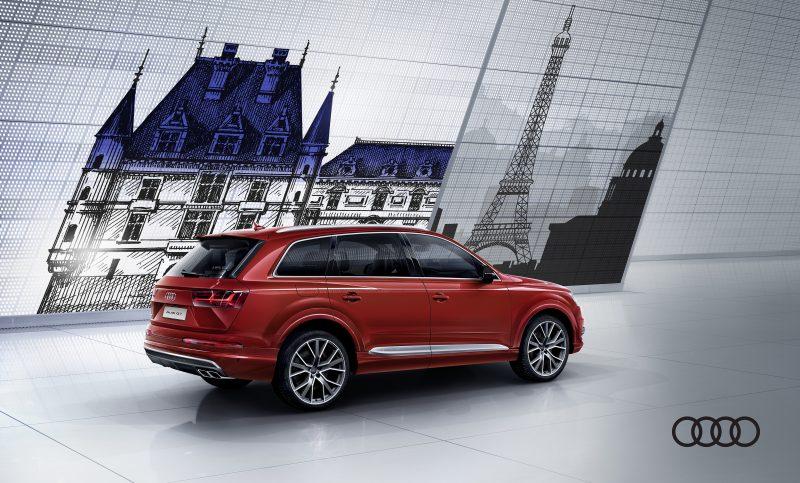 Mua xe Audi Q7 trúng chuyến du lịch Pháp