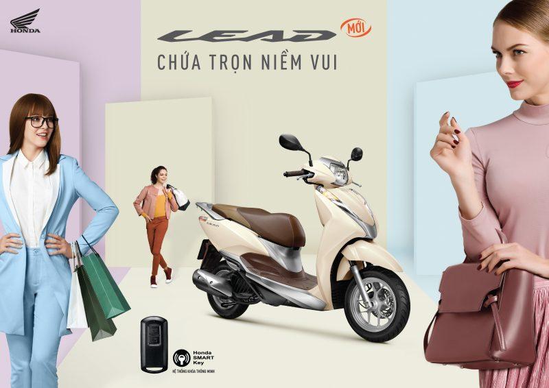 Honda Việt Nam chốt giá xe Lead mới từ 37,5 triệu VND