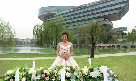 """Triển lãm cưới """"Serene Valley"""" 2017 tại JW Marriott Hanoi"""