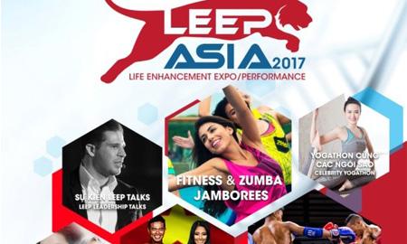 CMG.ASIA đăng cai Triển lãm Thể hình và Giải trí LEEP ASIA đầu tiên tại Việt Nam