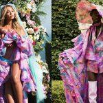 Beyoncé mặc đồ… nam trong bức ảnh công bố cặp song sinh?