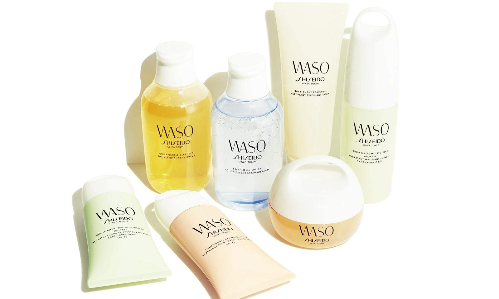 """Shiseido Waso: dòng mỹ phẩm có móc treo độc đáo dành cho những cô nàng mê """"phượt"""""""