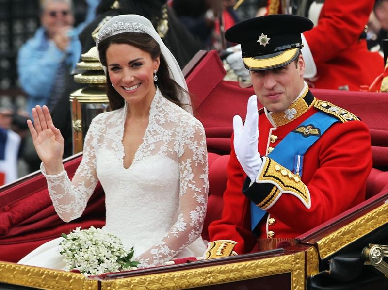 Đám cưới thể kỉ của hoàng tử William và Kate diễn ra vào ngày 29/4/2011