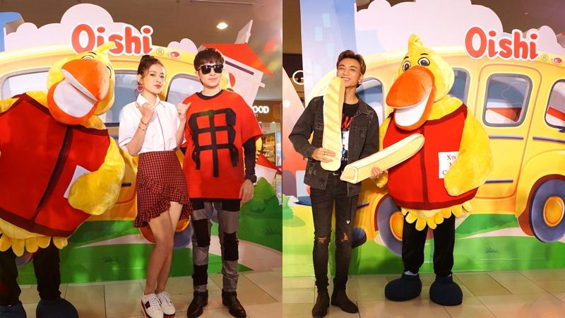"""Chi Pu, Gil Lê và Soonbin Hoàng Sơn quậy tưng bừng ở """"Oishi Siêu Snack Party"""""""