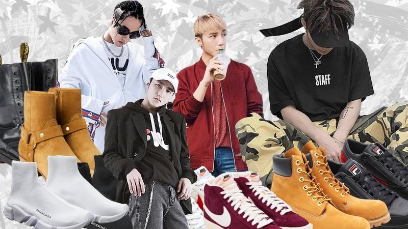 """""""Bóc giá"""" tủ giày hiệu đồ sộ của Sơn Tùng M-TP"""