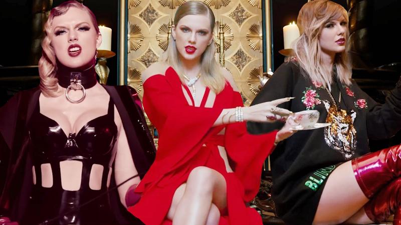 """Taylor Swift đầu tư tiền tỉ cho tạo hình """"gái hư"""" trong MV mới"""