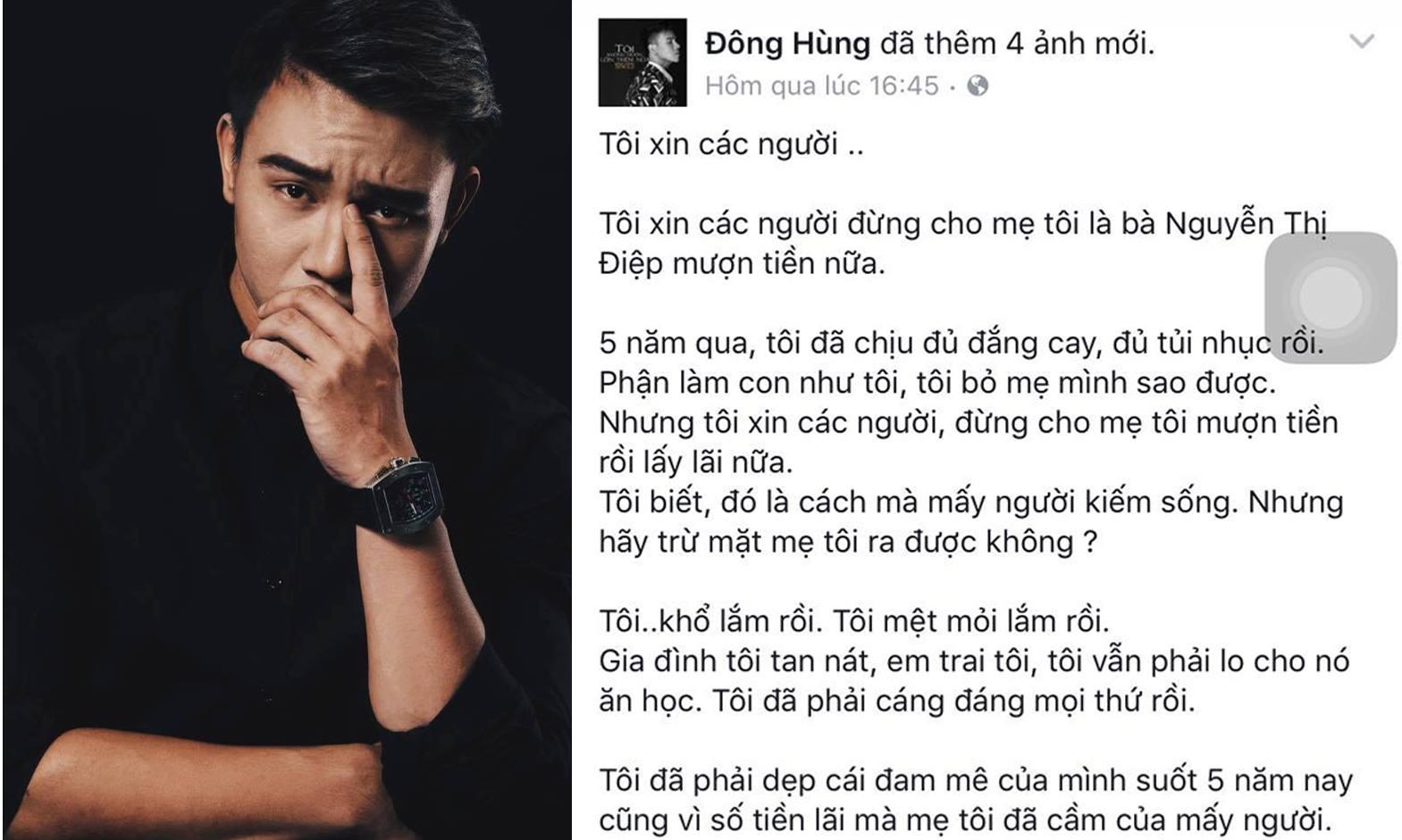 Nghệ sĩ Việt xót xa khi Đông Hùng bị hành hung gây thương tích vì món nợ của mẹ