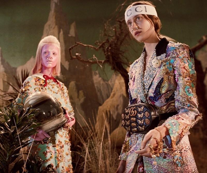 Thành công của Gucci còn có sự góp phần bởi những chiến dịch quảng cáo với nguồn cảm hứng độc đáo và bùng nổ.