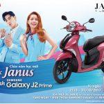 Mua xe Yamaha Janus được tặng điện thoại Samsung Galaxy J2 Prime