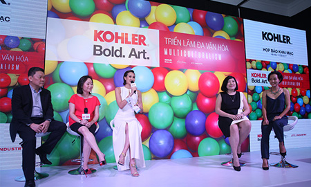 """Kohler tổ chức triển lãm nghệ thuật Bold. Art với chủ đề """"Đa văn hóa"""""""