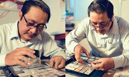 Nguyễn Đại Hùng Lộc – Tem thư, cuộc chơi trầm lắng