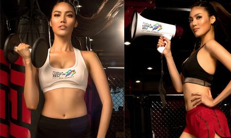 Lan Khuê làm giám khảo của Muscle Contest Việt Nam mùa đầu tiên