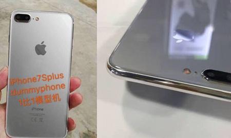 Rò rỉ ảnh mô phỏng được cho là của iPhone 7S hỗ trợ sạc không dây