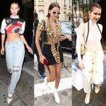 Street style mùa hè hấp dẫn của Bella Hadid