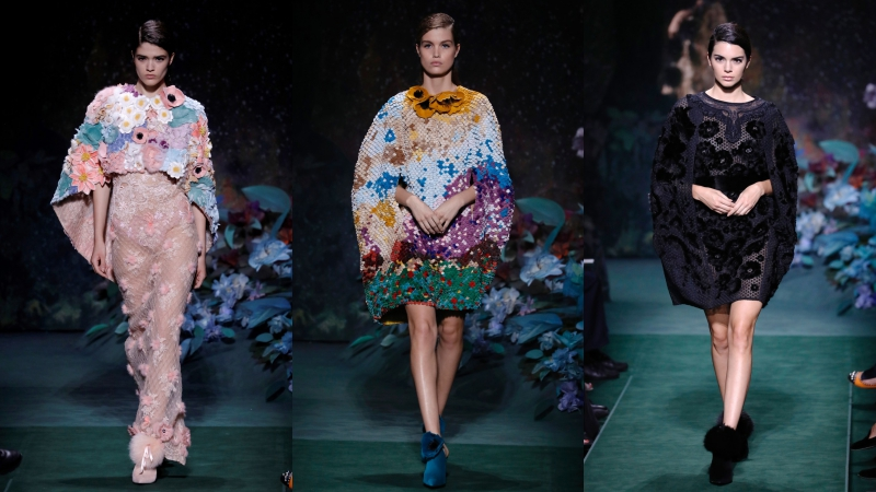 BST Haute Couture Thu Đông 2017 của Fendi