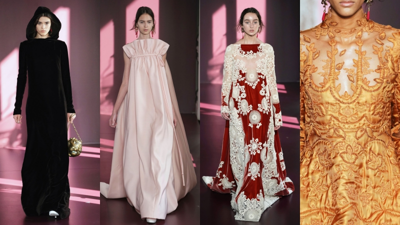 BST Haute Couture Thu Đông 2017 của Valentino
