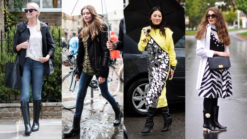 Khi thời trang bất chấp thời tiết
