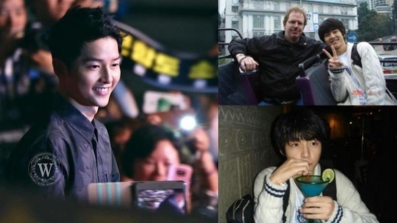 """Bất ngờ với loạt ảnh mộc vừa được """"khai quật"""" của Song Joong Ki cùng loạt sao K-pop"""