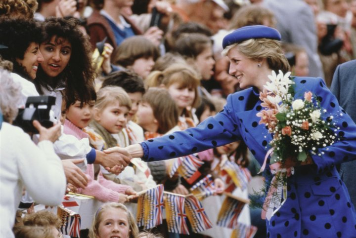 Diana, Princess of Wales (1961 - 1997) during a trip to Canada, May 1986. (Photo by Georges De Keerle/Getty Images)