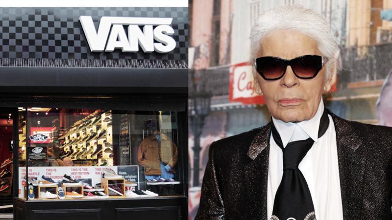 """Vans x Karl Lagerfeld: Cú """"make-over"""" ngoạn mục cho những đôi sneakers kinh điển"""