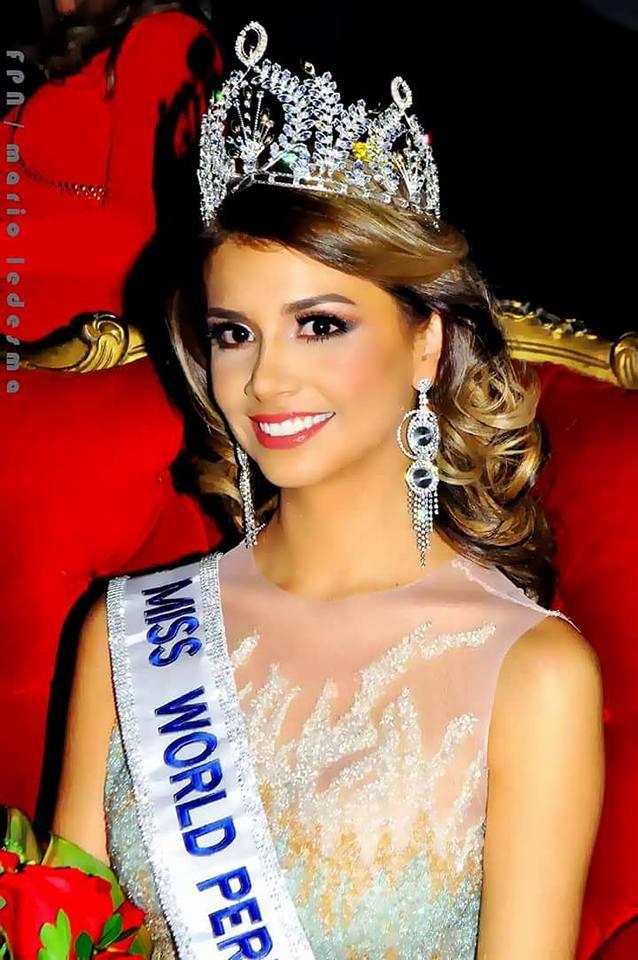 Pamela Sanchez - nhan sắc đại diện Peru tham dự Hoa hậu Thế giới 2017.