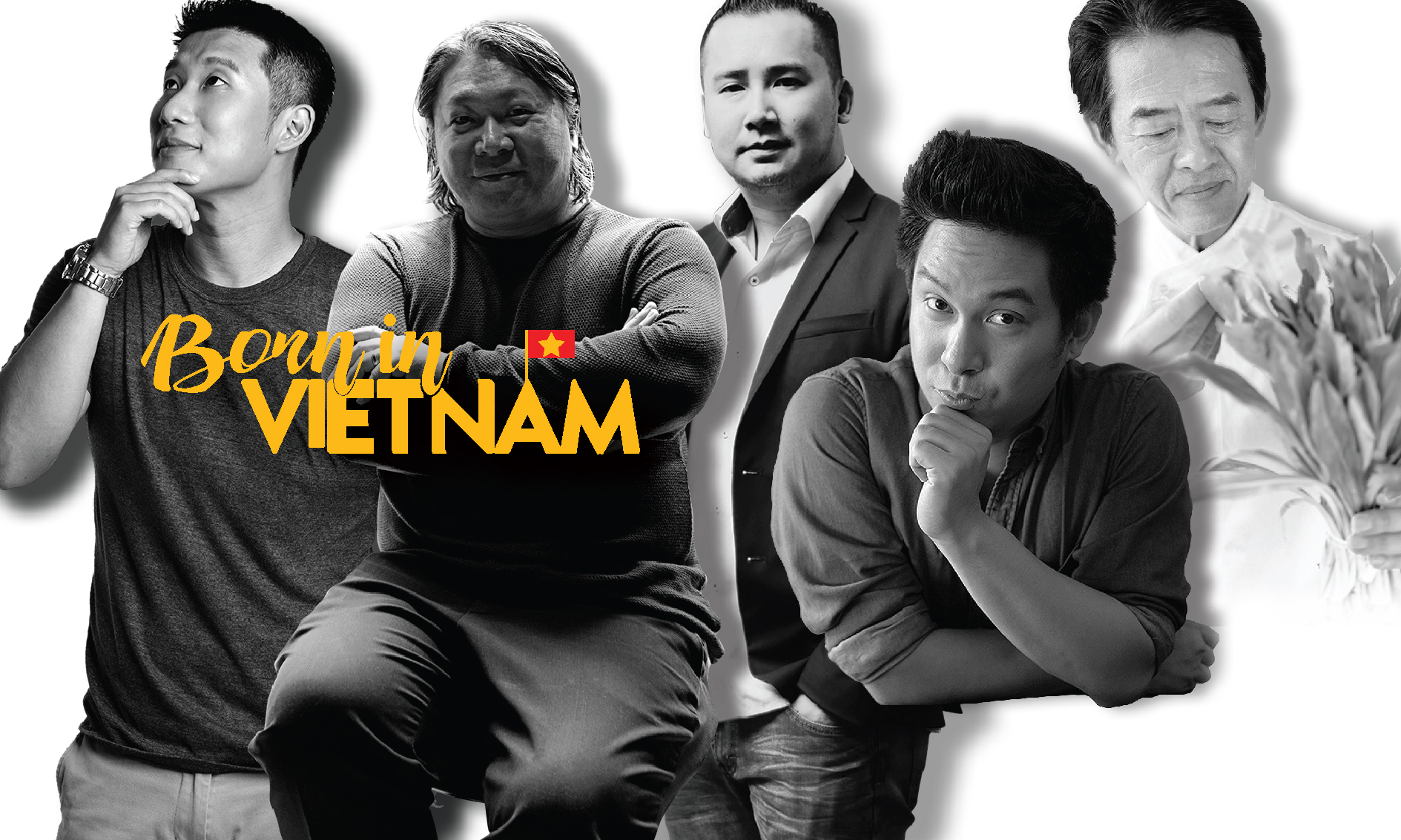 Born in Vietnam