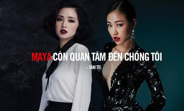 Showbiz Việt bị xáo trộn bởi cuộc khẩu chiến giữa Tâm Tít và Maya. Từ một status trên facebook, cả hai đã đăng đàn đấu đá nhau công khai trước dư luận.
