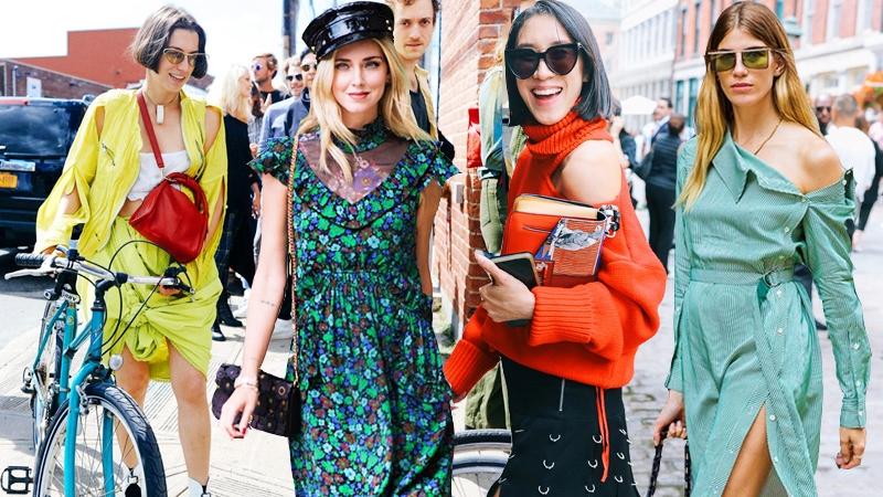 6 xu hướng street style thống trị Tuần lễ Thời trang New York Xuân Hè 2018