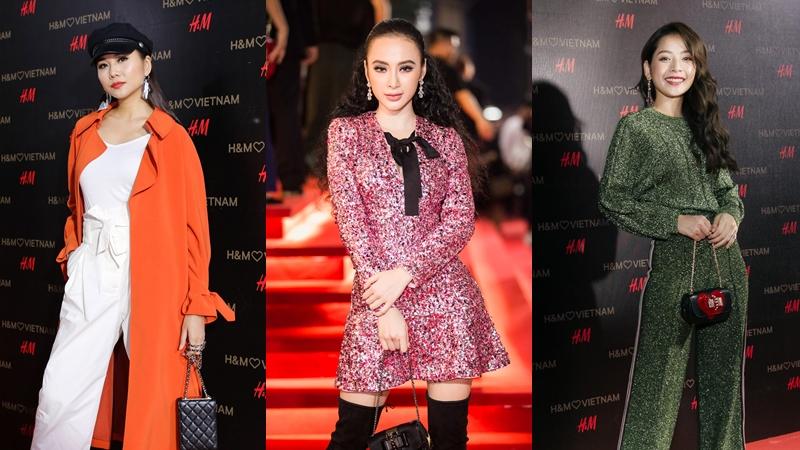 """Chi Pu, Châu Bùi, Mâu Thủy cùng hơn 50 sao """"đốt cháy"""" thảm đỏ sự kiện ra mắt H&M Việt Nam"""