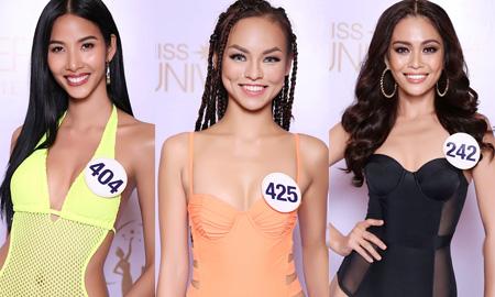Hoàng Thùy, Mai Ngô, Mâu Thủy cạnh tranh quyết liệt trong màn thi bikini – Hoa Hậu Hoàn Vũ Việt Nam