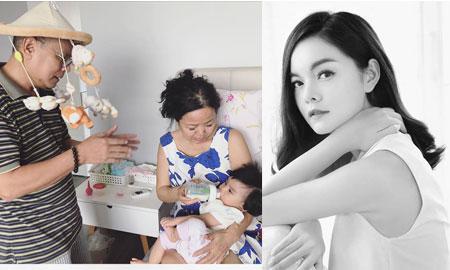 """Chia sẻ xúc động của ca sĩ Phạm Quỳnh Anh về sự hy sinh bất kể tháng năm của cha mẹ: """"Ngạt mũi, lười bú… đã có ông ngoại"""""""