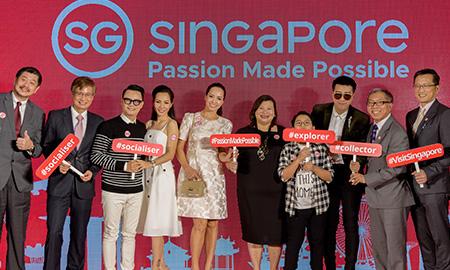 Hoàng Bách và Only C trở thành đại sứ cho chiến dịch quảng bá của Tổng cục Du lịch Singapore