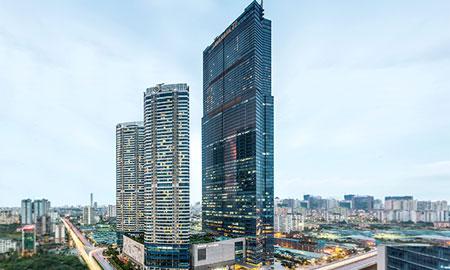 InterContinental Hanoi Landmark72 – Khách sạn giữa lưng chừng trời