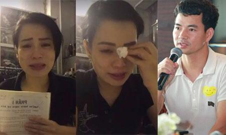 Vợ nghệ sĩ hài Xuân Bắc livestream tố đồng nghiệp của chồng chèn ép đến gầy ốm