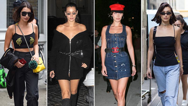 """Street style """"gây thương nhớ"""" của Bella Hadid tại Tuần lễ Thời trang New York"""