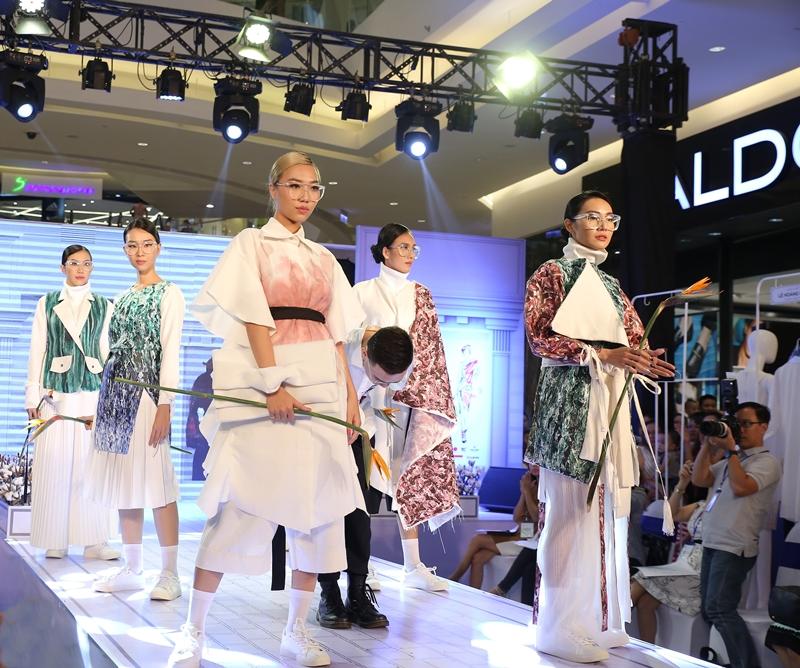 Một số mẫu thiết kế trong bộ sưu tập Tạo Dáng của thí sinh Phan Vị Hán (Lâm Á Luân)