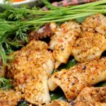 Mực tươi nướng sả ớt – món ăn đặc trưng của ngư dân miền Trung