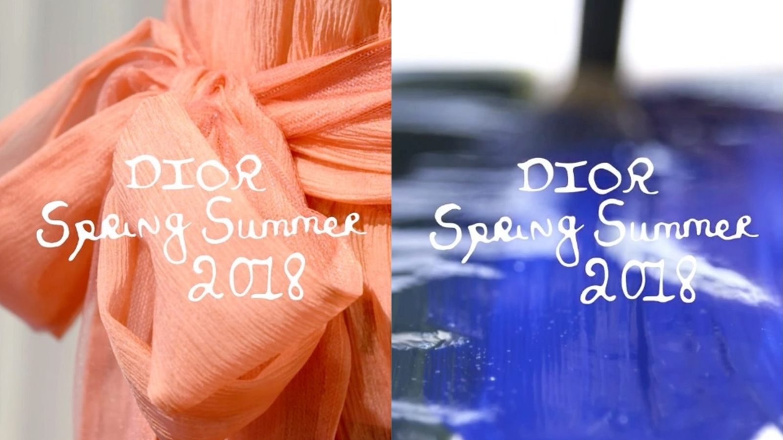 Livestream show diễn Xuân Hè 2018 của Dior từ Paris